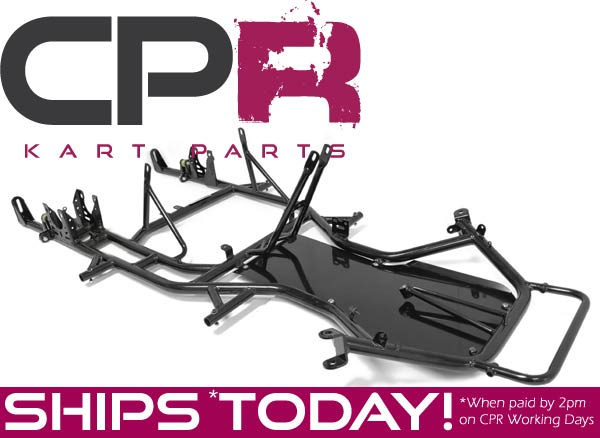 CPR RS-32 Bare Chassis Frame - suits 2 and 4 stroke karts (MODULE 1 OF BTC-DIY KIT)