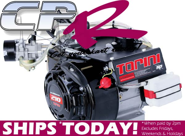 4-Stroke Engine Torini 212cc Clubmaxx SEALED Base Engine for 4SS (no clutch or muffler included)
