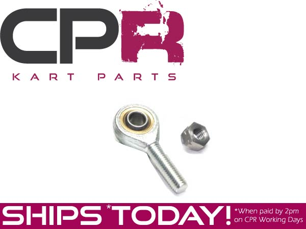 Tie Rod End (8mm Male) LEFT SIDE ONLY (Includes Locking Nut) To Suit Steering