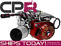 4-Stroke Engine CPR OHV 10hp 192cc Complete + Upgrade & Governor Removal (12T Clutch) WITH Aluminium FLYWHEEL FITTED