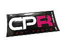 CPR Sticker 200x90mm Black Background