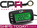 Cylinder Head Temperature Gauge GT CPR 2 or 4-Stroke with Max Temp Recall - Easy To Read Large Display, Backlight, Replaceable Battery, Temp Alert